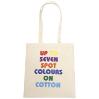 Somerhill 4.5oz Cotton Tote Bag