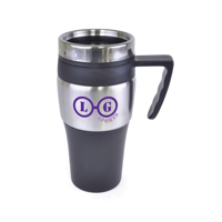 Goya 400Ml Stainless Steel Double Walled Travel Mug