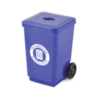 Fugato Wheelie Bin Shaped Pencil Sharpener